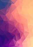 Fototapety Abstract polygonal background.