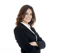 Portrait of a young attractive business woman - 65903705