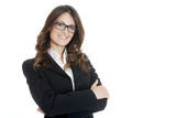 Portrait of a young attractive business woman - 65903713