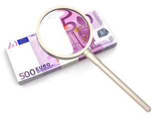 Suche nach Geldgebern
