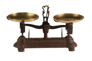 Ancient old scales