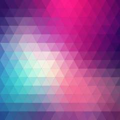 Abstract background, triangle design, vector illustration
