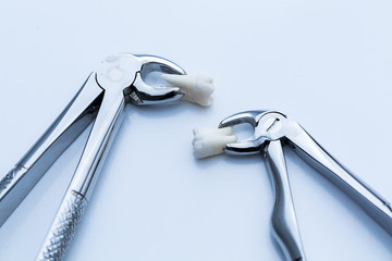 Dentist wisdom tooth forceps instruments