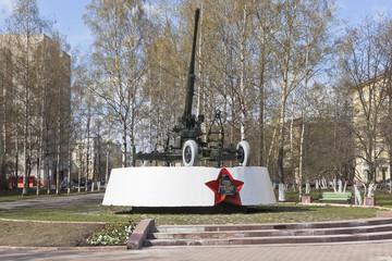 Вологда. Памятник воинам противовоздушной обороны