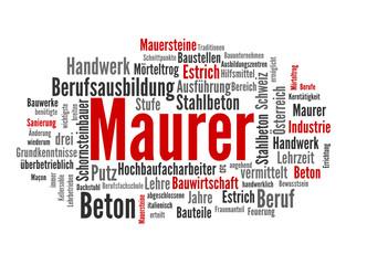 Maurer (Baugewerbe, Job)