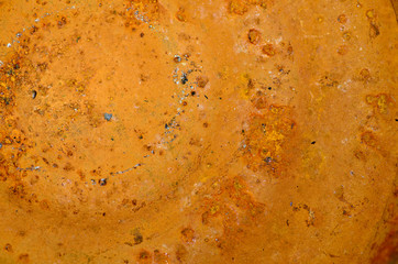 rusty iron metal background