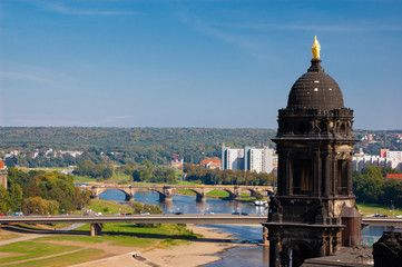 Dresden view Germany