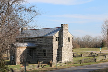 Historic home at Crockett Park