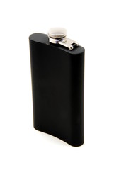 Black Drinking Flask - Back