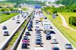 Autobahn A 8 bei Möhringen, Tilt Shift Effekt