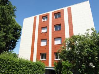 façade bicolore