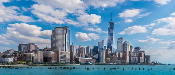 New-York City panoramic view