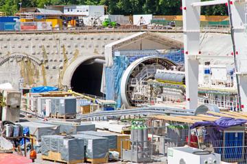 Tunnelbau - Fildertunnel, Stuttgart 21, Flughafen