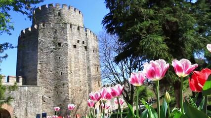 Springtime in Rumelihisari, Istanbul, Turkey