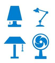 Lampes & Ventilateur
