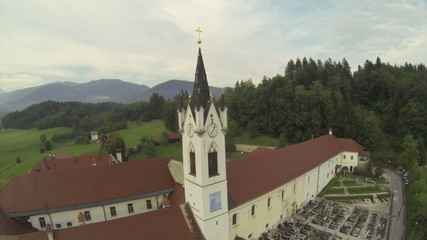 Monastery near Kamnik, Slovenia.