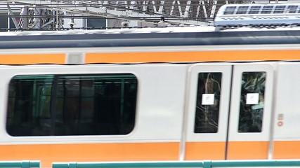 電車走行 アップ