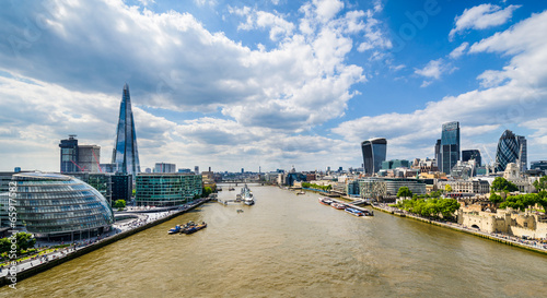 Fototapeta Skyline of London, UK