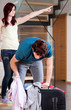 Wife throwing away husband from home