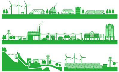 再生可能エネルギーと電力網