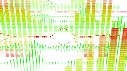 equalizer audio waveform loopable background