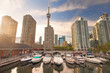 Harbourfront in downtown Toronto