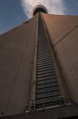 CN tower base detail