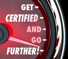 Get Certified and Go Further Speedometer Certification License Q