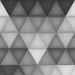 paper cut of triangle pattern background is creative wallpaper f