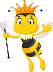Queen bee cartoon