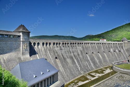 Staande foto Dam Edertalsperre in Hessen