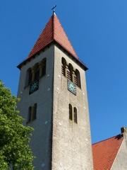 Kirchturm der evangelisch-reformierten Kirche in Helpup