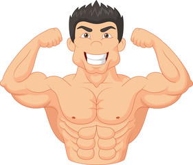 Cartoon Bodybuilder