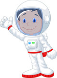 Fototapety Astronaut cartoon