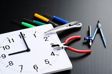 時計と工具