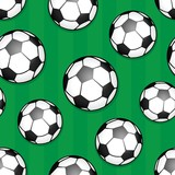 Seamless background soccer theme 1 - 65925791