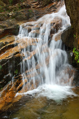 Waterfall near Wuyishan Mountain, Fujian province, China