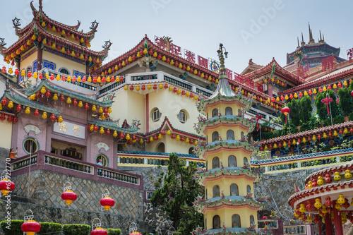 canvas print picture Kek Lok Si Tempel Georgetown Penang Malaysia