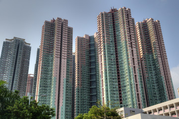 Highrise Apartment Blocks