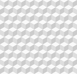 White geometric seamless background