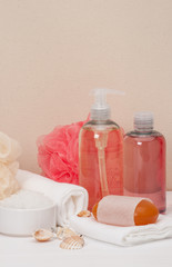 Liquid Soap, Aromatic Bath Salt And Other Toiletry