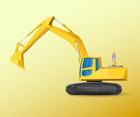 Vehicle Excavator