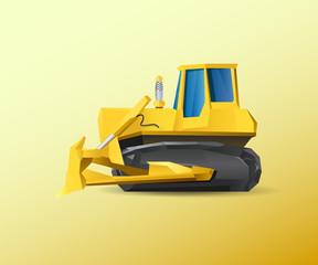 Vehicle Bulldozer
