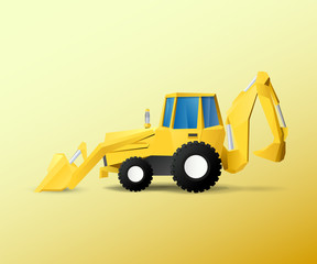 Vehicle Bulldozer excavator