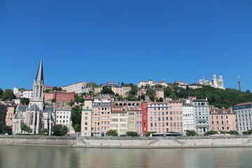 Quais de Saône à Lyon (France)
