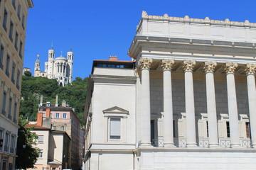 Lyon : Fourvière et Ancien palais de justice