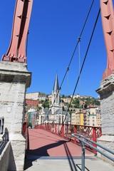 Passerelle Saint Georges à Lyon
