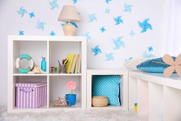 Modern playroom for children
