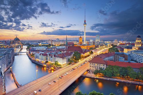 canvas print picture Berlin.