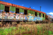canvas print picture - Eisenbahn  Reise